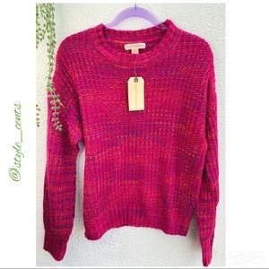 NWT Band of Gypsies Soft Knit Sweater